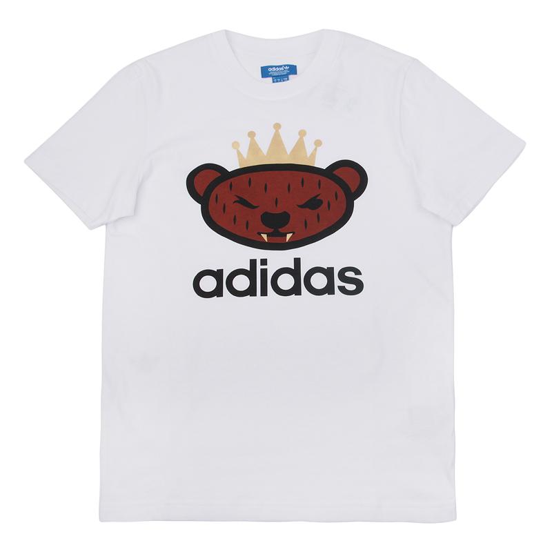 Футболка adidas Originals NIGO 25 Logo TeeФутболки<br>хлопок, полиэстер<br><br>Цвет: Белый<br>Размеры UK: L;XL<br>Пол: Мужской