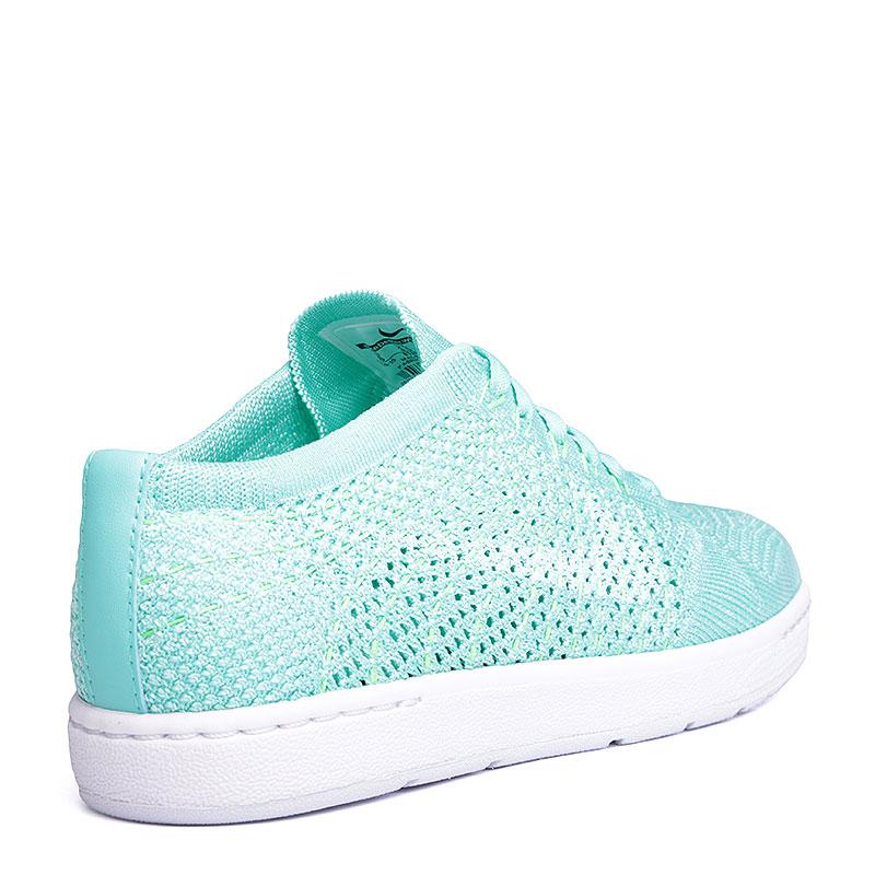 женские голубые, белые  кроссовки nike wmns tennis classic ultra flyknit 833860-300 - цена, описание, фото 3