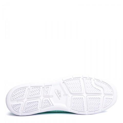 Купить женские голубые, белые  кроссовки nike wmns tennis classic ultra flyknit в магазинах Streetball - изображение 4 картинки