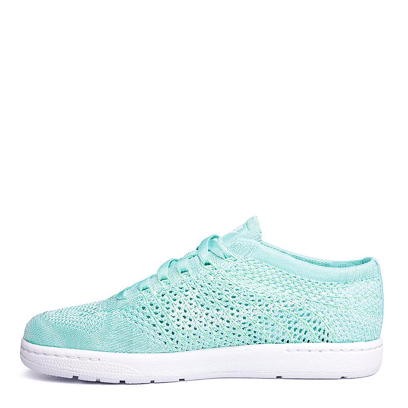 женские голубые, белые  кроссовки nike wmns tennis classic ultra flyknit 833860-300 - цена, описание, фото 5