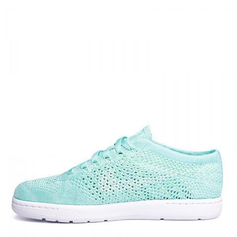 Купить женские голубые, белые  кроссовки nike wmns tennis classic ultra flyknit в магазинах Streetball - изображение 5 картинки