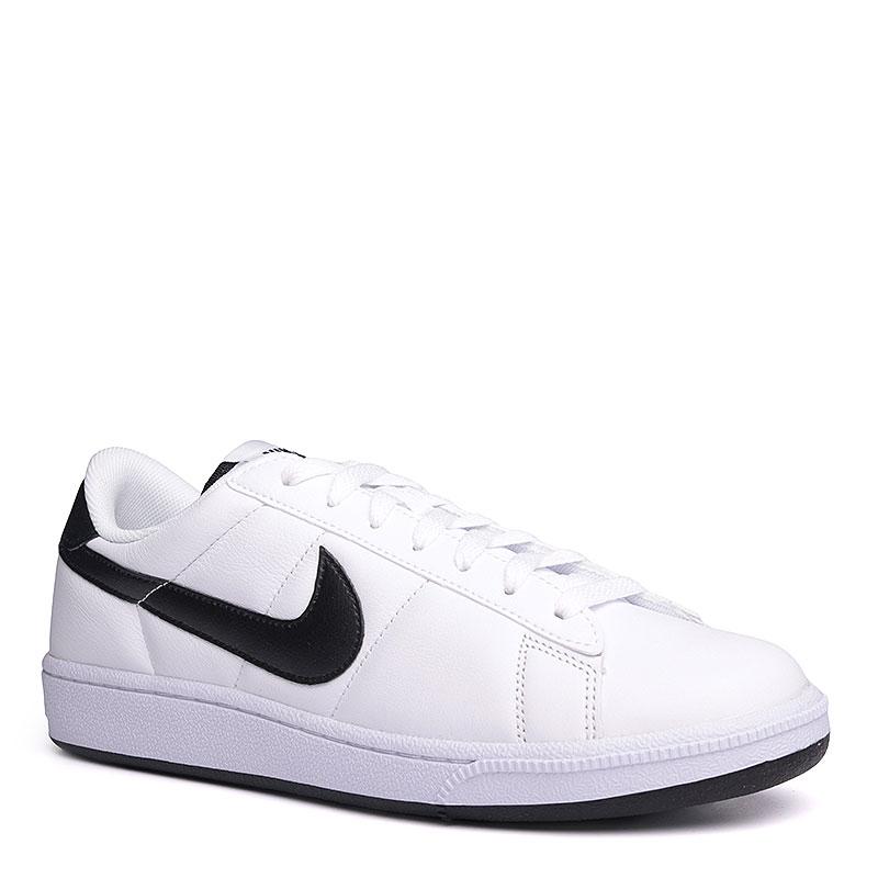 Кроссовки Nike Sportswear Tennis ClassicКроссовки lifestyle<br>Кожа, текстиль, резина<br><br>Цвет: Белый, черный<br>Размеры US: 8;8.5;9.5;10.5;11;11.5;12<br>Пол: Мужской