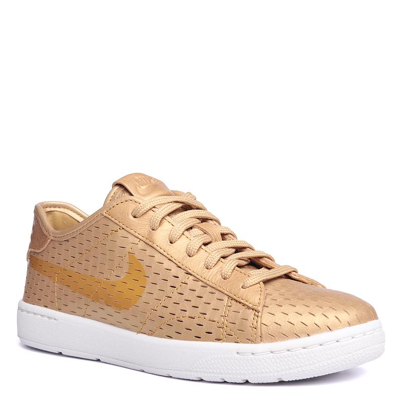 Кроссовки Nike Sportswear WMNS Tennis Classic Ultra PRMКроссовки lifestyle<br>кожа,текстиль,резина<br><br>Цвет: Золотой<br>Размеры US: 6;6.5<br>Пол: Женский