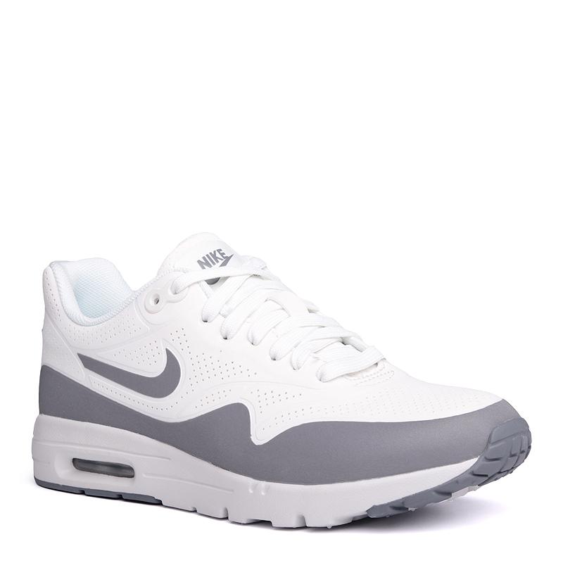 Кроссовки Nike Sportswear WMNS Air Max 1 Ultra MoireКроссовки lifestyle<br>синтетика,текстиль,резина<br><br>Цвет: Белый<br>Размеры US: 6<br>Пол: Женский