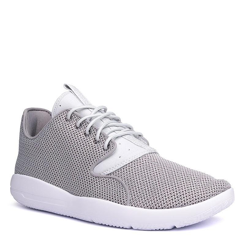 Кроссовки Jordan EclipseКроссовки lifestyle<br>Текстиль, синтетика, пластик<br><br>Цвет: Серый, белый<br>Размеры US: 8.5<br>Пол: Мужской
