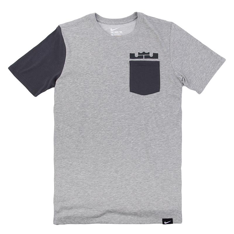Футболка Nike LBJ Sleeve Block Tee