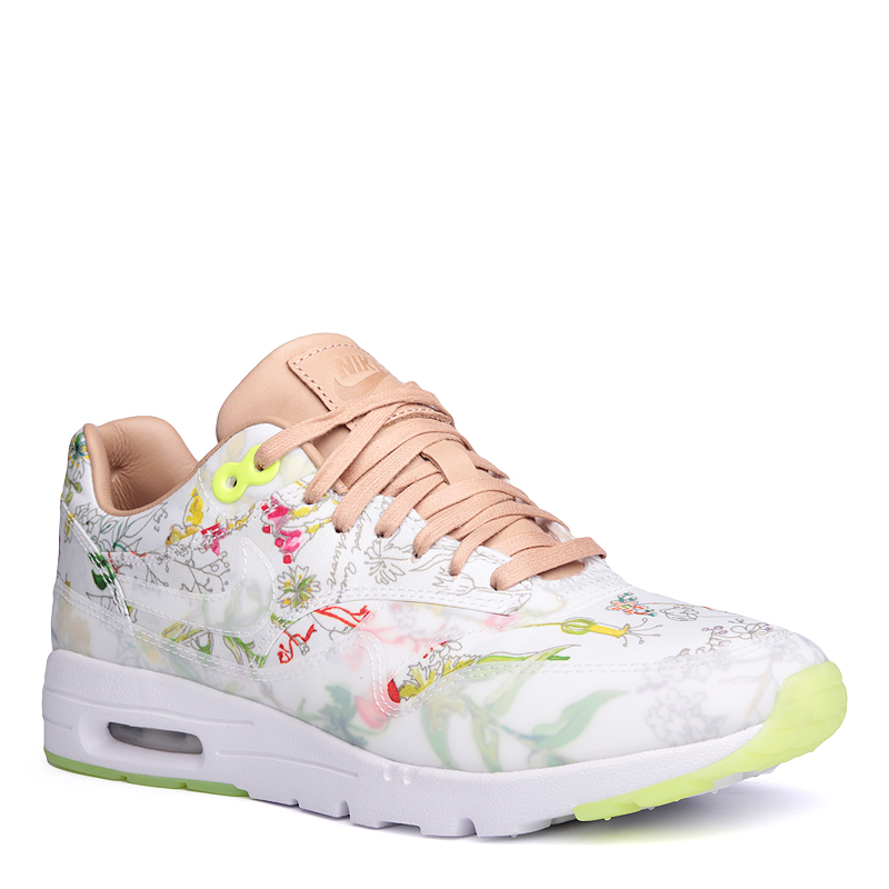 Кроссовки Nike Sportswear WMNS Air Max 1 Ultra LIB QSКроссовки lifestyle<br>кожа,текстиль,резина<br><br>Цвет: Белый<br>Размеры US: 6;6.5;8;8.5<br>Пол: Женский
