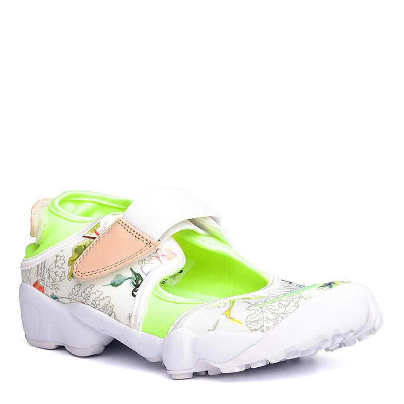 Сандали Nike WMNS Air Rift LIB QSКроссовки lifestyle<br>текстиль,резина<br><br>Цвет: Белый<br>Размеры US: 6<br>Пол: Женский
