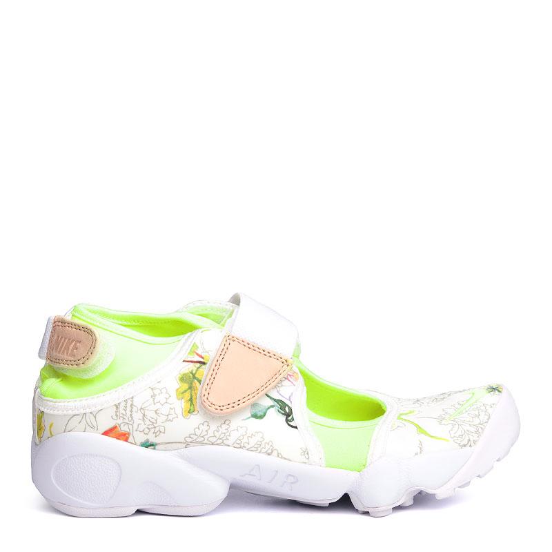 женские белые  сандали nike wmns air rift lib qs 848476-101 - цена, описание, фото 2