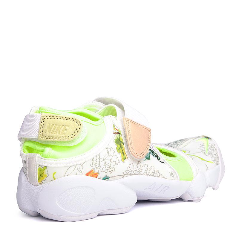 женские белые  сандали nike wmns air rift lib qs 848476-101 - цена, описание, фото 3