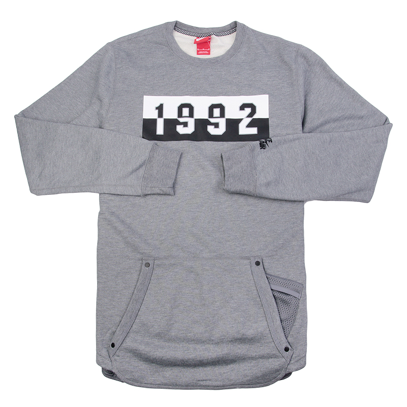 Толстовка Nike Sportswear M NK AIR CRWТолстовки свитера<br>хлопок, полиэстер<br><br>Цвет: Серый<br>Размеры US: XL<br>Пол: Мужской