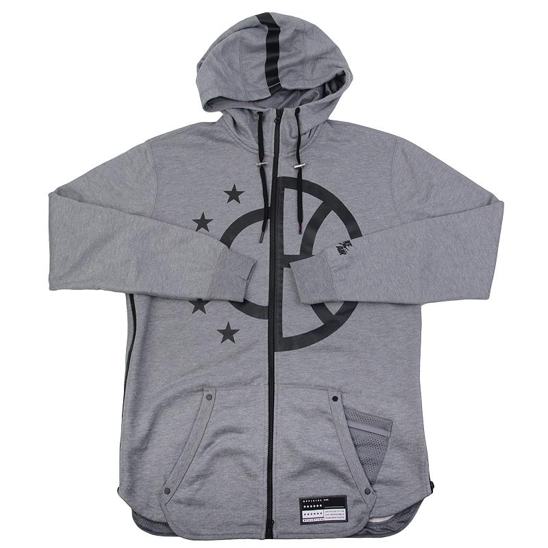 Толстовка Nike Sportswear Air Pivot FZ HoodyТолстовки свитера<br>хлопок, полиэстер<br><br>Цвет: Серый<br>Размеры US: S<br>Пол: Мужской