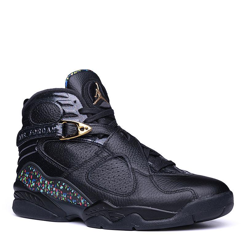 Кроссовки Air Jordan VIII Retro C&amp;CКроссовки lifestyle<br>Кожа, синтетика, текстиль, резина, пластик<br><br>Цвет: Чёрный<br>Размеры US: 14<br>Пол: Мужской
