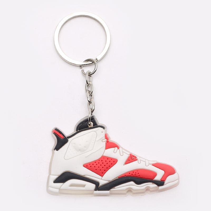 Брелок Jordan AJ6 №10-AJ6-wht/red - цена, описание, фото 1