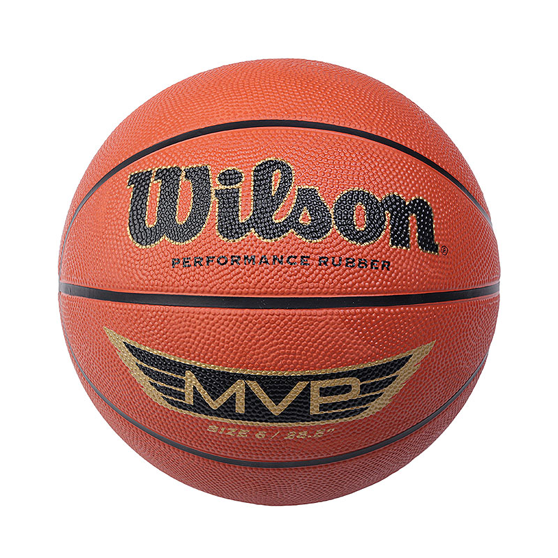 Мяч Wilson MVPМячи<br>Резина<br><br>Цвет: Оранжевый<br>Размеры : 6
