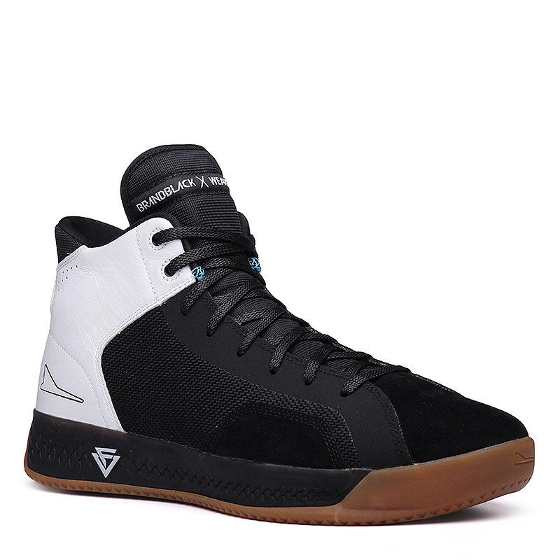 Кроссовки Brandblack Ether WeartestersКроссовки баскетбольные<br>Кожа, текстиль, резина<br><br>Цвет: Чёрный, белый, коричневый<br>Размеры : 8;8.5;9;10;11;11.5;12;12.5<br>Пол: Мужской