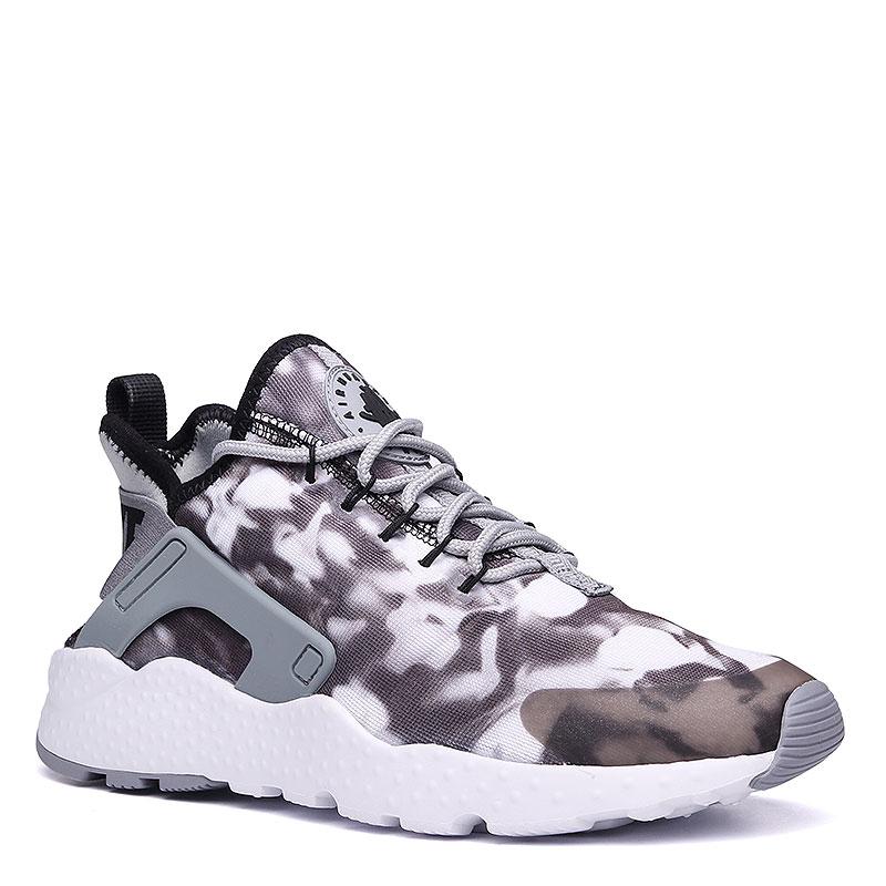 Кроссовки Nike sportswear WMNS Air Huarache Run Ultra PrintКроссовки lifestyle<br>Текстиль, пластик, резина<br><br>Цвет: Серый, белый<br>Размеры US: 5.5;6;6.5;7;7.5;8;8.5<br>Пол: Женский