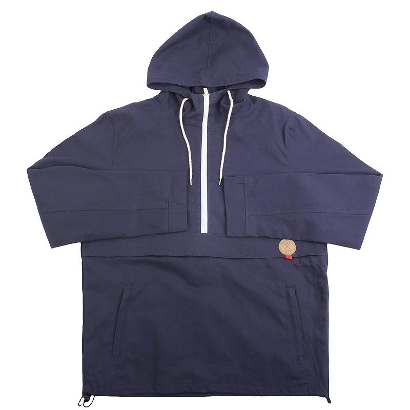 Анорак True spinКуртки, пуховики<br>хлопок,полиэстер<br><br>Цвет: Синий<br>Размеры : S;M<br>Пол: Мужской