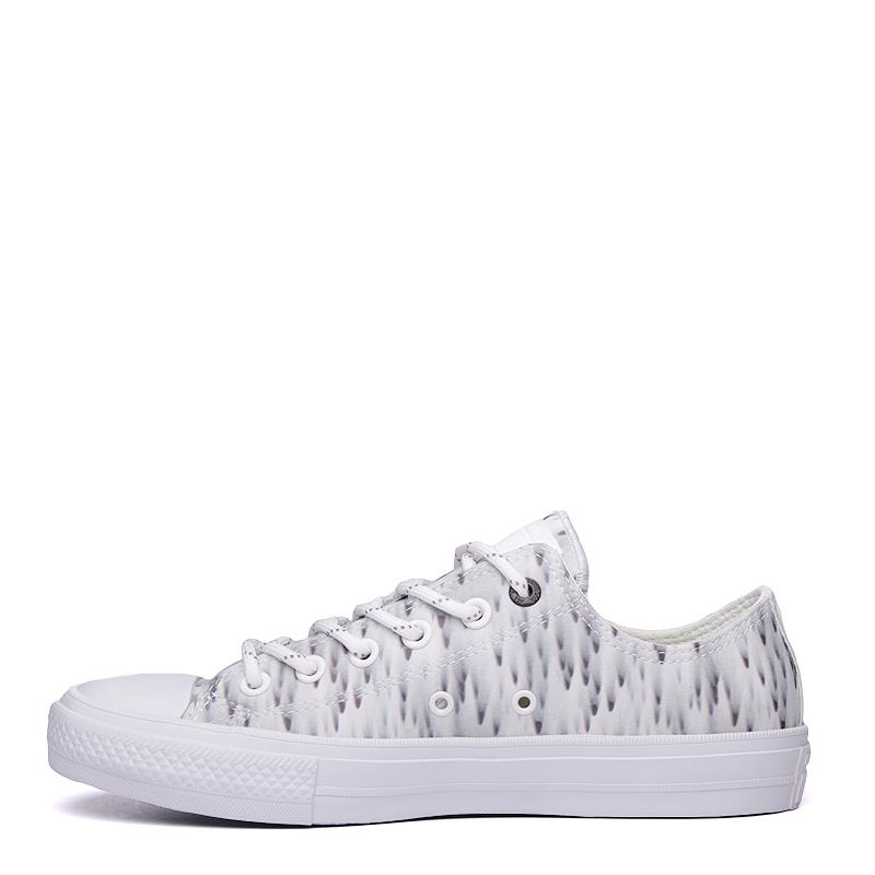 мужские белые  кроссовки converse ctas ox 154494 - цена, описание, фото 4