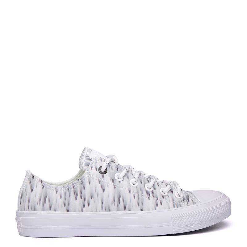 мужские белые  кроссовки converse ctas ox 154494 - цена, описание, фото 2