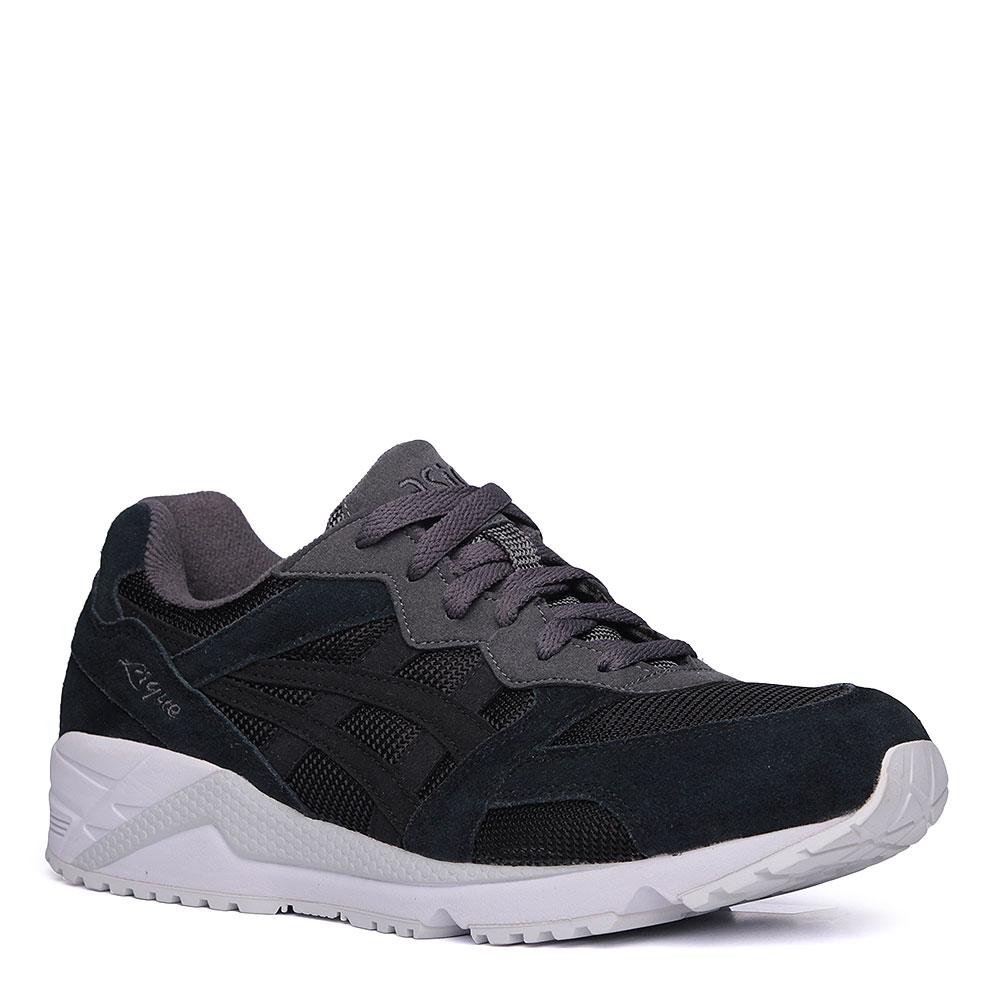 мужские чёрные, белые. кроссовки asics tiger gel-lique H6K0L-9090 - цена 3fe1aae9c19