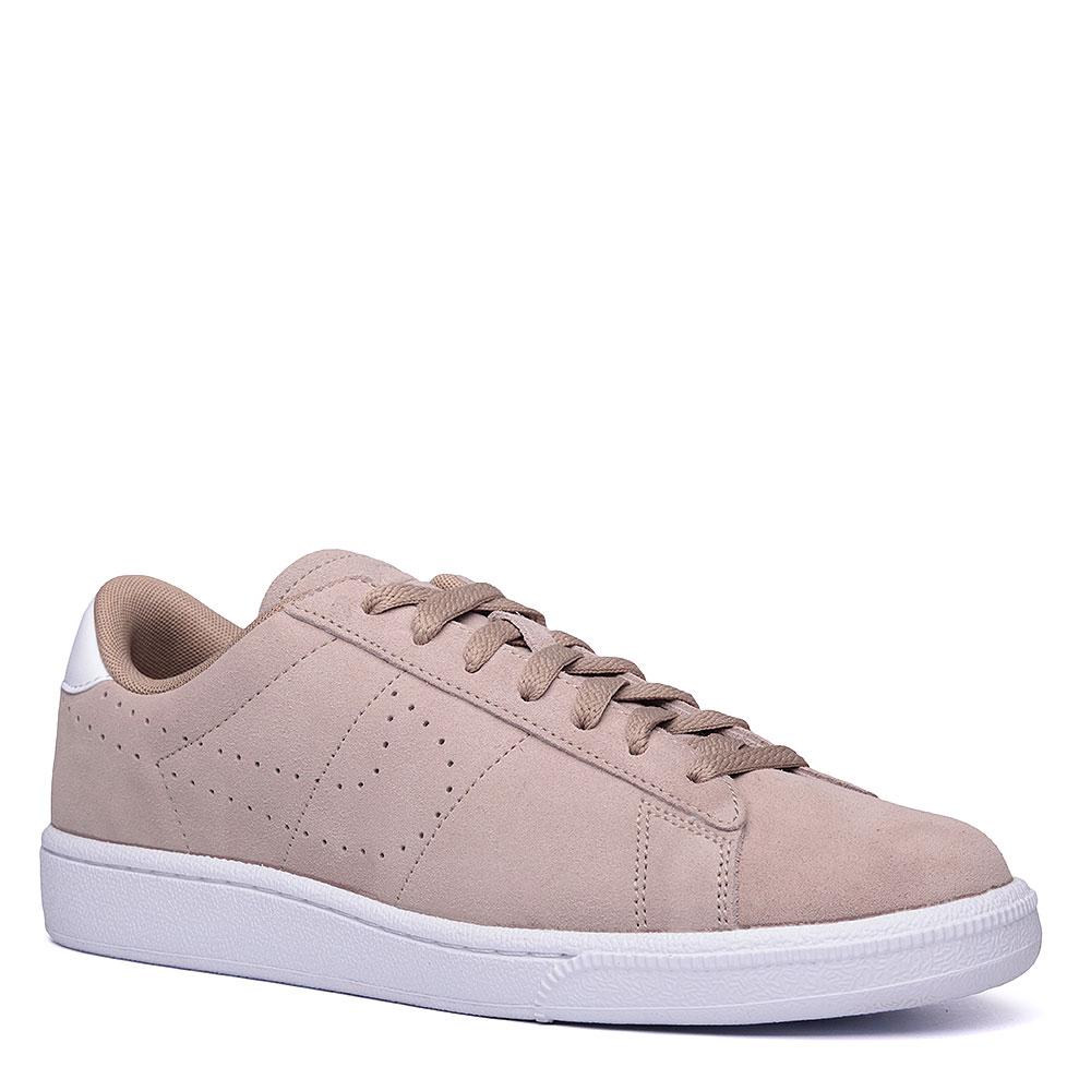 dca93283 мужские бежевые, белые. кроссовки nike tennis classic cs suede 829351-201 -  цена
