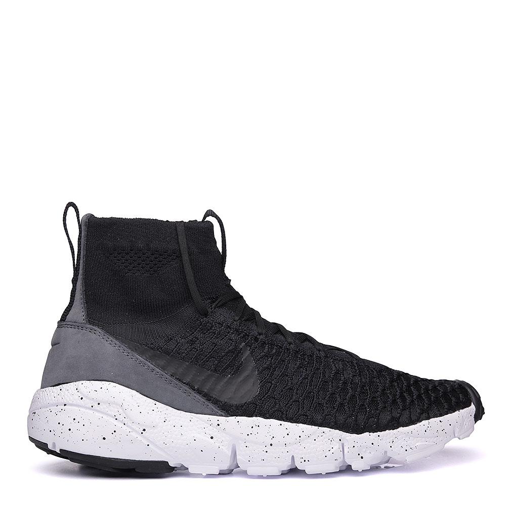 мужские чёрные, белые.  кроссовки nike air footscape magista flyknit 816560-003 - цена, описание, фото 2