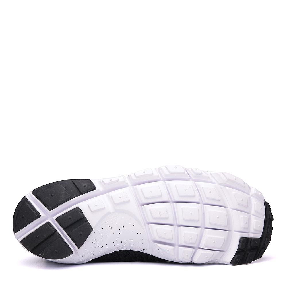 мужские чёрные, белые.  кроссовки nike air footscape magista flyknit 816560-003 - цена, описание, фото 4