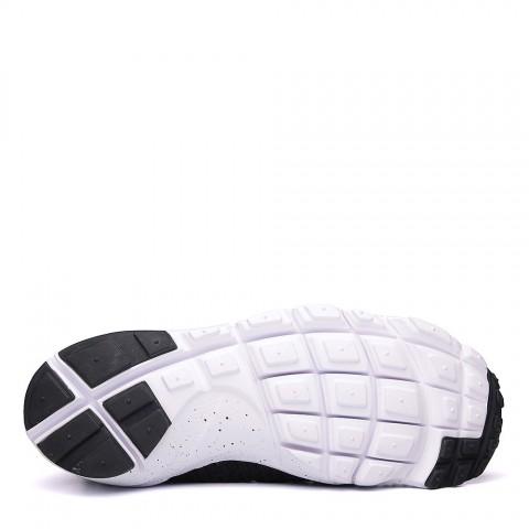 Купить мужские чёрные, белые.  кроссовки nike air footscape magista flyknit в магазинах Streetball - изображение 4 картинки