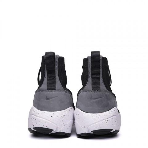 Купить мужские чёрные, белые.  кроссовки nike air footscape magista flyknit в магазинах Streetball - изображение 6 картинки