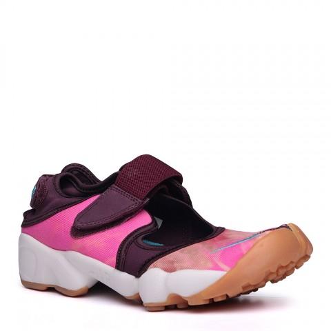 женские розовые, фиолетовые, белые.  сандали nike wmns air rift prm qs 848502-600 - цена, описание, фото 1