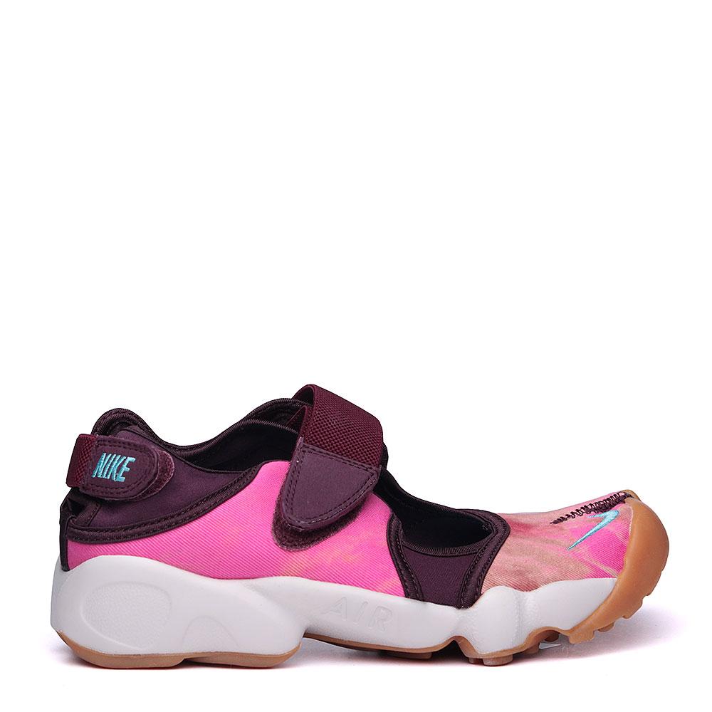 женские розовые, фиолетовые, белые.  сандали nike wmns air rift prm qs 848502-600 - цена, описание, фото 2