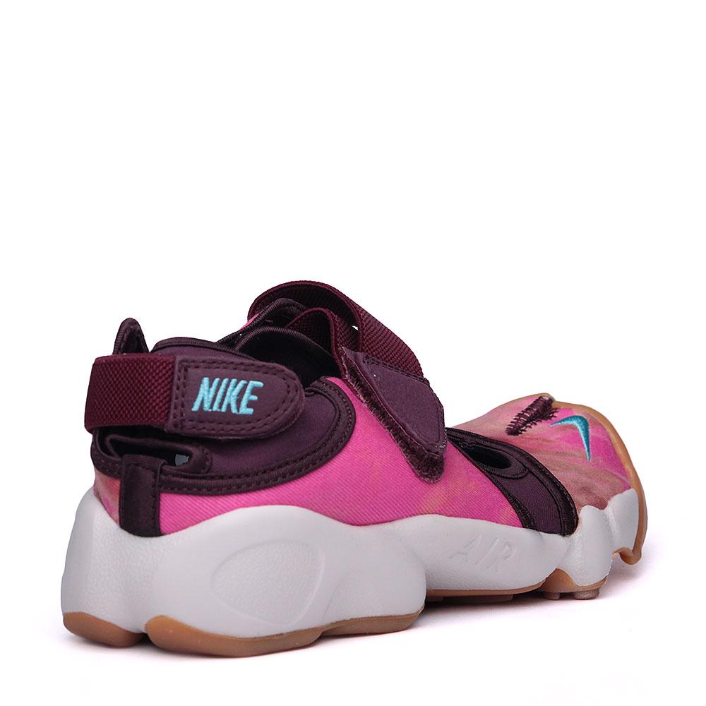 женские розовые, фиолетовые, белые.  сандали nike wmns air rift prm qs 848502-600 - цена, описание, фото 3