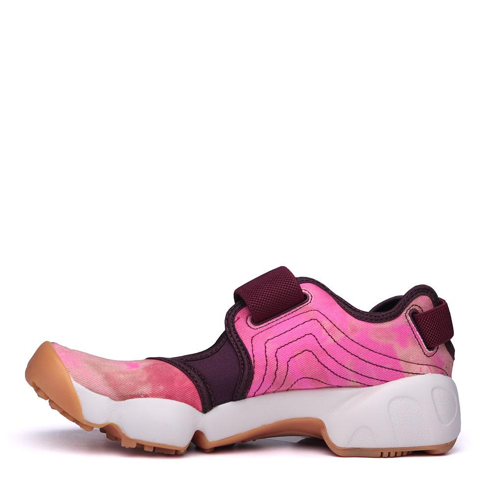 женские розовые, фиолетовые, белые.  сандали nike wmns air rift prm qs 848502-600 - цена, описание, фото 5