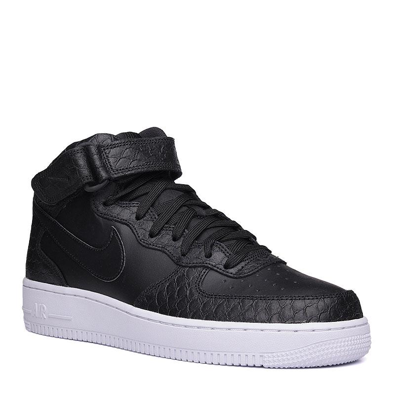 Кроссовки Nike sportswear Air Force 1 Mid 07 LV8Кроссовки lifestyle<br>кожа, синтетика, текстиль, резина.<br><br>Цвет: чёрный, белый.<br>Размеры US: 12<br>Пол: Мужской
