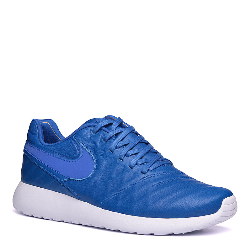 Кроссовки  Nike Roshe Tiempo VI QSКроссовки lifestyle<br>кожа, текстиль, пластик.<br><br>Цвет: синий, белый.<br>Размеры US: 8.5<br>Пол: Мужской