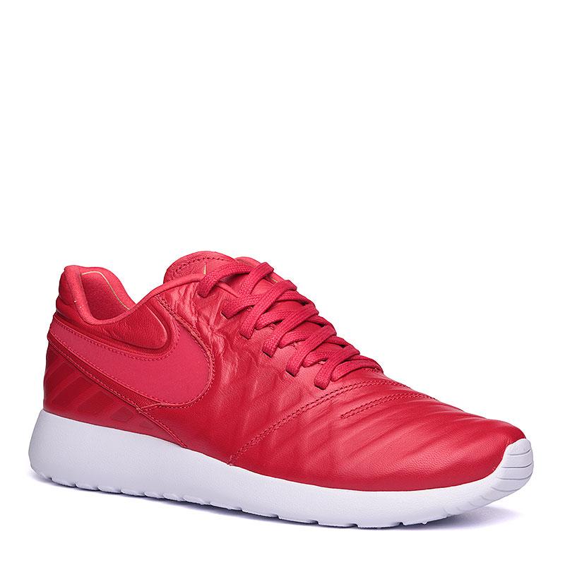 Кроссовки  Nike Roshe Tiempo VI QSКроссовки lifestyle<br>кожа, текстиль, пластик.<br><br>Цвет: красный, белый.<br>Размеры US: 8.5;9;11;11.5<br>Пол: Мужской
