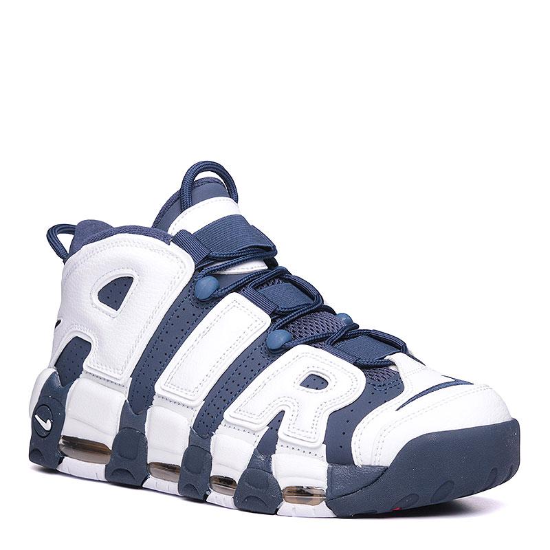 8acce81573cb мужские синие, белые. кроссовки nike air more uptempo 414962-104 - цена,