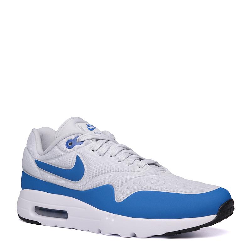 3925ebd8 мужские серые,синие кроссовки nike air max 1 ultra se 845038-004 - цена