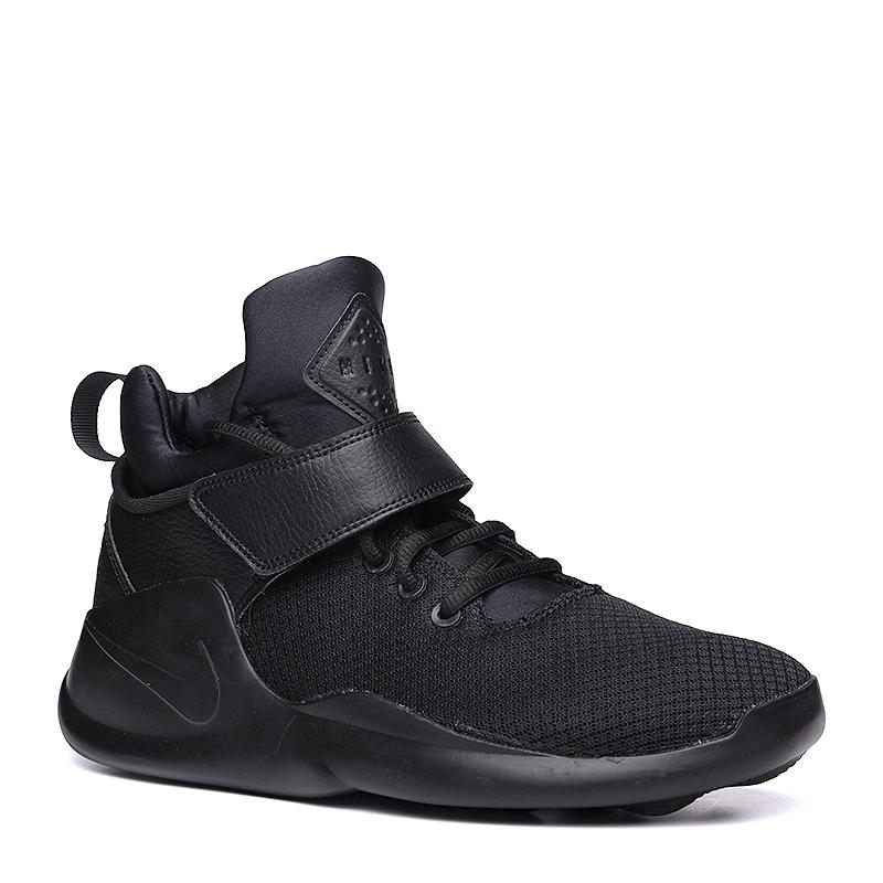Кроссовки Nike Sportswear KwaziКроссовки lifestyle<br>кожа,синтетика,текстиль,резина<br><br>Цвет: Черный<br>Размеры US: 12<br>Пол: Мужской