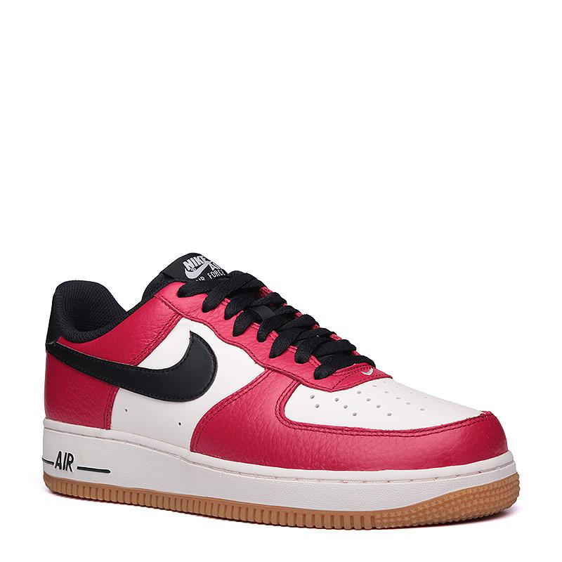 Кроссовки Nike sportswear Air Force 1Кроссовки lifestyle<br>кожа,синтетика,текстиль,резина<br><br>Цвет: Красный,бежевый<br>Размеры US: 8;8.5;9;9.5;10;10.5;11;11.5;12;12.5;13;14;15<br>Пол: Мужской