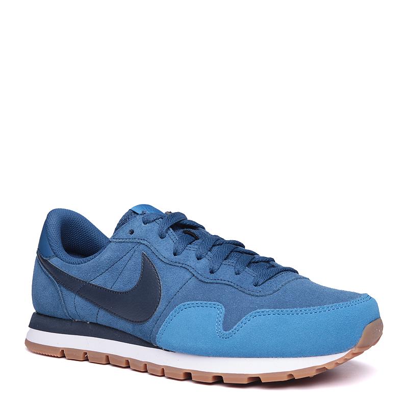 Кроссовки Nike Sportswear Air Pegasus 83 LTRКроссовки lifestyle<br>кожа,синтетика,текстиль, резина<br><br>Цвет: Синий<br>Размеры US: 8;8.5;9;10;10.5;11;11.5;12<br>Пол: Мужской