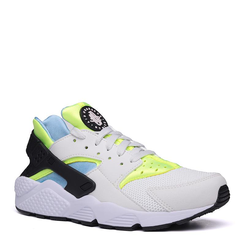 Кроссовки Nike Sportswear Air HuaracheКроссовки lifestyle<br>синтетика,текстиль,резина<br><br>Цвет: Бежевый,зеленый<br>Размеры US: 8;8.5;9;9.5;10;10.5;11;11.5;12<br>Пол: Мужской