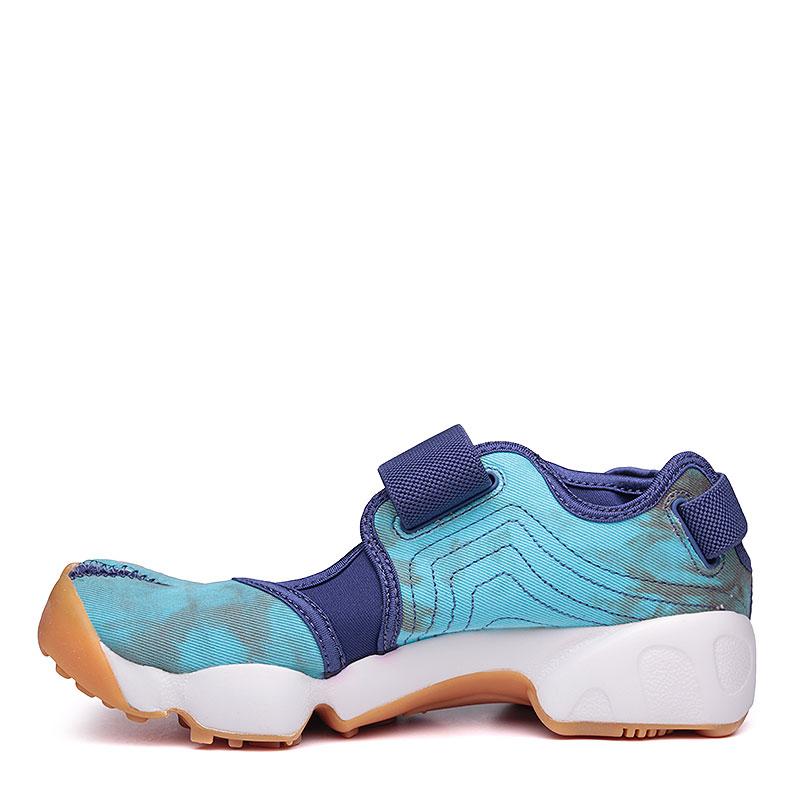 женские синие, голубые, белые.  сандалии nike wmns air rift prm qs 848502-500 - цена, описание, фото 5