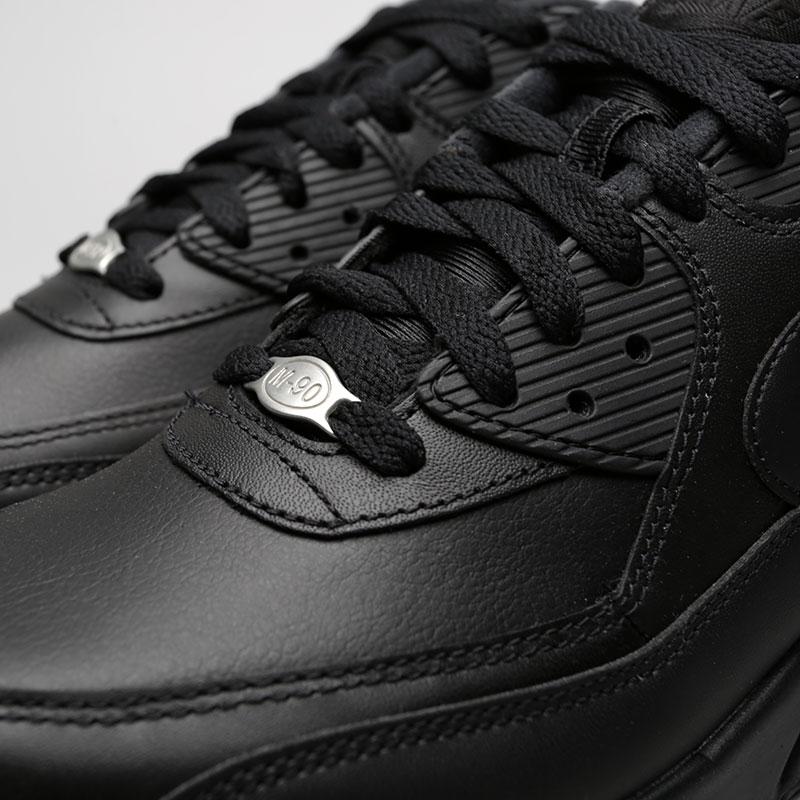 Мужские кроссовки Air Max 90 Leather от Nike (302519-001) оригинал ... 9174966d1130c