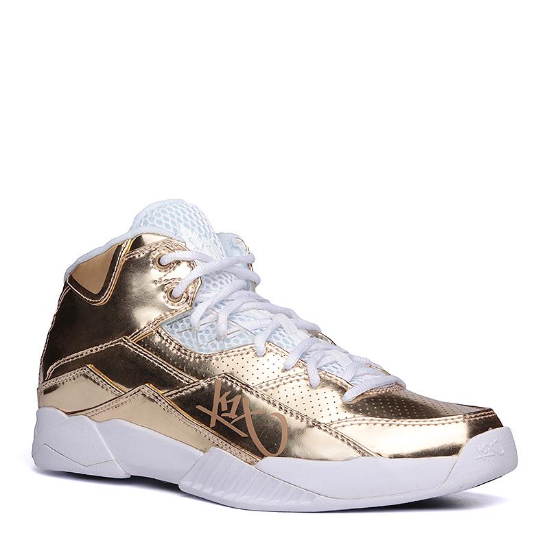 Кроссовки K1X Anti GravityКроссовки баскетбольные<br>синтетика,текстиль,резина<br><br>Цвет: Золотой<br>Размеры US: 8;9<br>Пол: Мужской