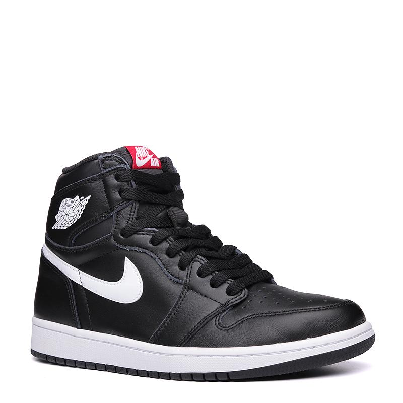 89e5f27ff04035 мужские чёрные, белые. кроссовки air jordan 1 retro high og 555088-011 -