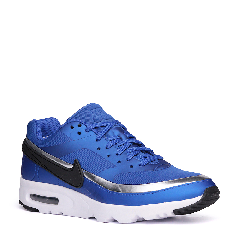 Кроссовки Nike WMNS Air Max BW Ultra LOTC QSКроссовки lifestyle<br>синтетика, текстиль, резина<br><br>Цвет: Синий<br>Размеры US: 6;6.5<br>Пол: Женский