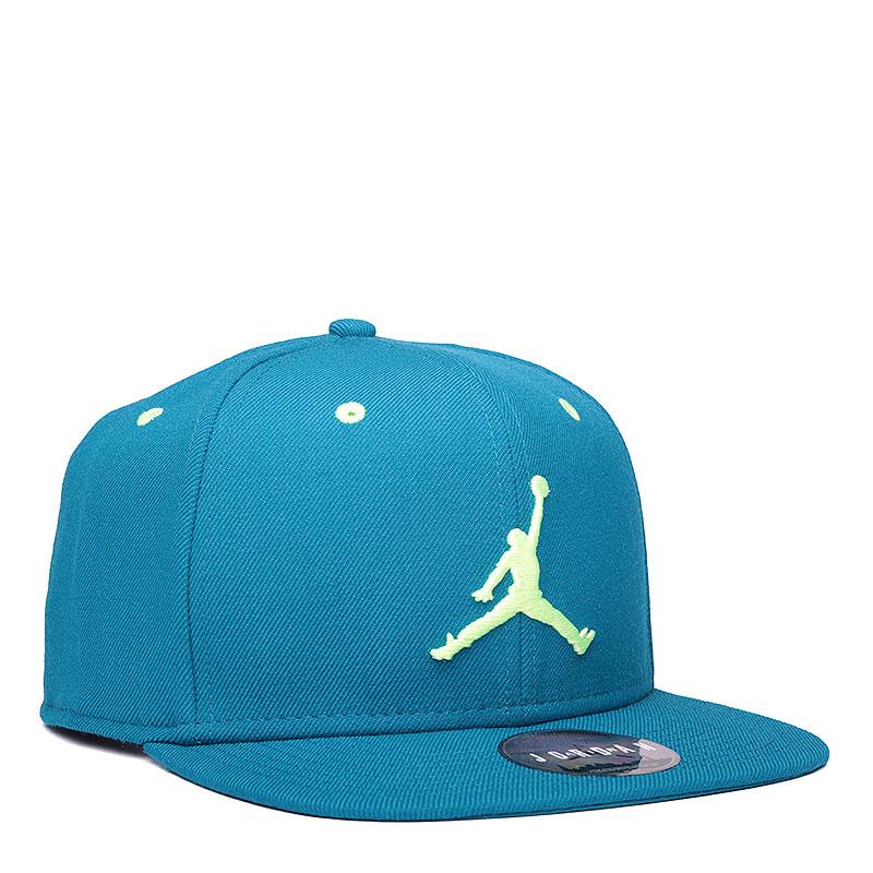 Кепка Jordan Jumpman SnapbackКепки<br>шерсть, хлопок, полиэстер.<br><br>Цвет: синий.<br>Размеры US: OS