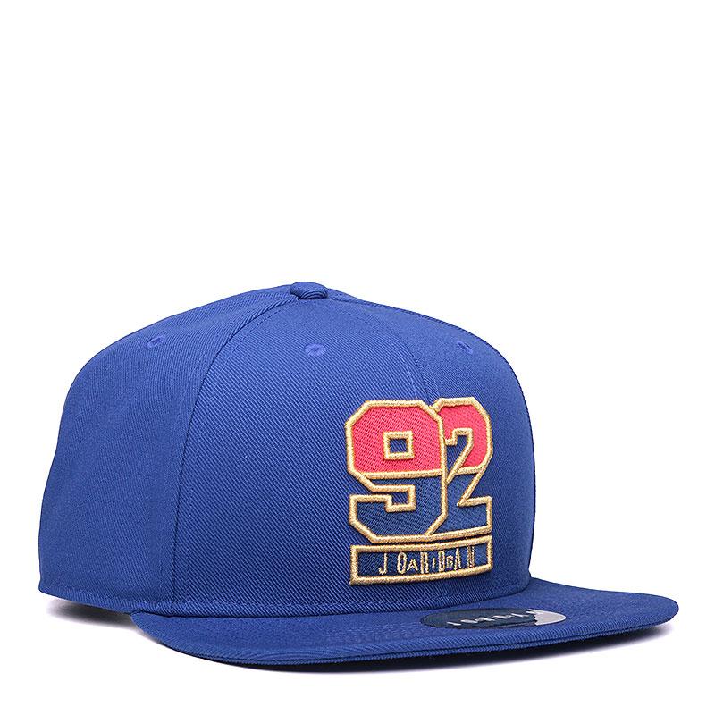Кепка Jordan 7 92 SnapbackКепки<br>полиэстер, хлопок.<br><br>Цвет: синий.<br>Размеры US: OS